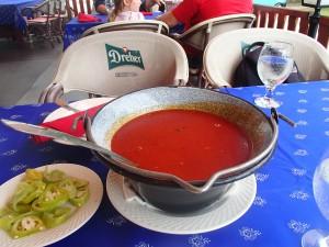 Szeged fish soup